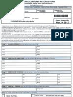 Corporate Records Service 101912