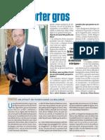 """""""Un atout de poids dans la balance"""" - Interview - Nicolas Baygert, Le Vif-L'Express, 12 octobre 2012"""