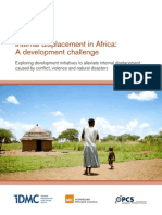 Internal displacement in Africa