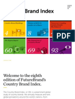 FutureBrand's Country Brand Index