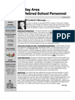 BARSP October 2012 Newsletter