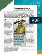 Sustainable Development of Algal Biofuels