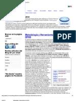 Metodología y Herramientas del DFSS