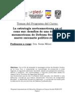 PLED Programa La Estrategia Norteamericana en El Cono Sur