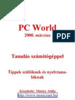 Tanulás számítógéppel