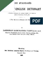 The Standard Sanskrit Dictionary - L R Vaidya_Part1