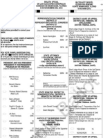 North Bay Village Sample Ballot 2012 November