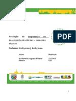 TESTE DE VALVULAS  Avaliação da degradação de desempenho de válvulas