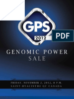 Sale Catalog - Genomic Power Sale