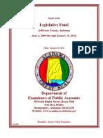 Jefferson County Legislative Fund Audit