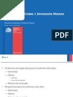 Mercado del Cobre e Inversión Minera en Chile-2012