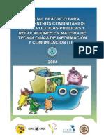 Fundación Chasquinet - Manual Politicas Publicas con TICs