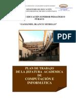 PLAN DE JEFATURA COMPUTACIÓN E INFORMÁTICA
