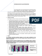 Electronics Industry Profile August 2012