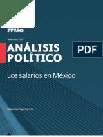 Los salarios en México, 2011