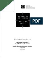 L'Avaluació Econòmica de la Planificació Territorial