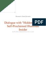 Dialogue With Hidden Hand - Inside the Illuminati - Wes Penre