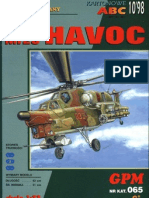 [Paper Model] [Helicopter] [GPM 065] Mi-28 Havoc (Decrypted)