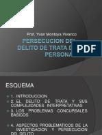 PERSECUCIÓN DEL DELITO - Yvan Montoya Vivanco