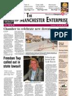 Manchester Enterprise Front Page Oct. 25, 2012