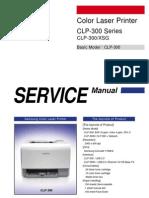 Samsung CLP-300 Service Manual