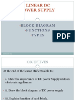 [Note] Chapter 1 - Linear DC Power Supply