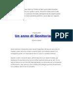Genitori Soli - Un Anno Di Genitorisoli.it