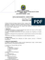 Edital Simpósio Técnico - 2011.2
