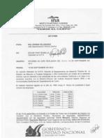 Informe Gira Vallecito