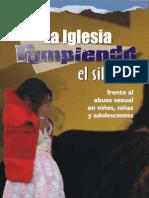 Iglesia Rompiendo El Silencio Frente Al Abuso Sexual Infantil
