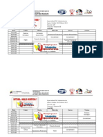 HORARIOS PNF ADMINISTRACION TRAYECTO 1, 2 Y 3, TRIMESTRES 3,5,7 Y 9. HALLI BURTON.