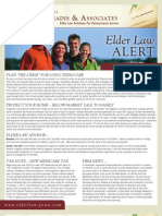 Elder Law Alert October 2012