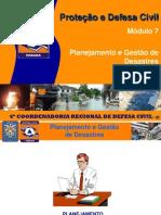 07. Planejamento Gestao Desastres