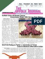 The Suffolk Journal 10/24/2012