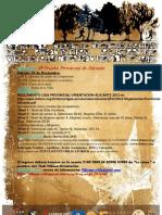 PROGRAMA_5ª Prueba Provincial de Alicante 2012