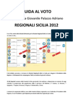 Guida Al Voto - Regionali