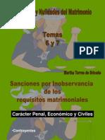 Temas 6 y 7.Sanciones Inobservancia Requisitos
