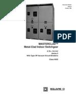 Manual Masterclad6055 30