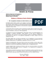 05-01-2011 Exitoso, el Sistema Centro Histórico Limpio