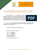 2012-10-24 Comunicado recurso reposición