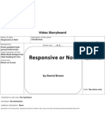 Responsive or Not? Storyboard