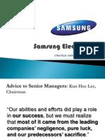 Samsung Electronics Case Study