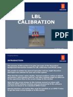 LBL Calibration