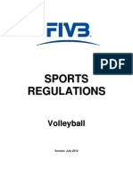 FIVB Sports Regulations 2012 (v 9) Final