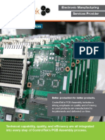 ControlTek - PCB Assembly Services Brochure