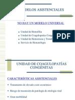 Modelos Asistenciales Multidisciplinarios en Hemofilia.( INFOHEMO 2012) 24.10.12 Dr. Aznar