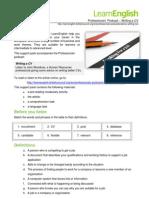 LearnEnglish_ProfessionalsPodcasts_WritingaCV