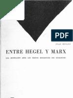 Entre Hegel y Marx