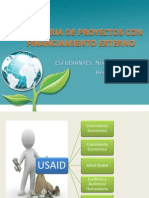 Auditoria de Proyectos Con Financiamiento Externo