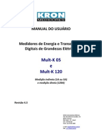Manual Do Usuario - Medidor de Energia e Transdutor Digital de Grandezas Mult-K - (Rev 4.3)
